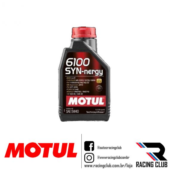 RACINGCLUB MOTUL 6100 SYNNERGY 5W40 SINTETICO