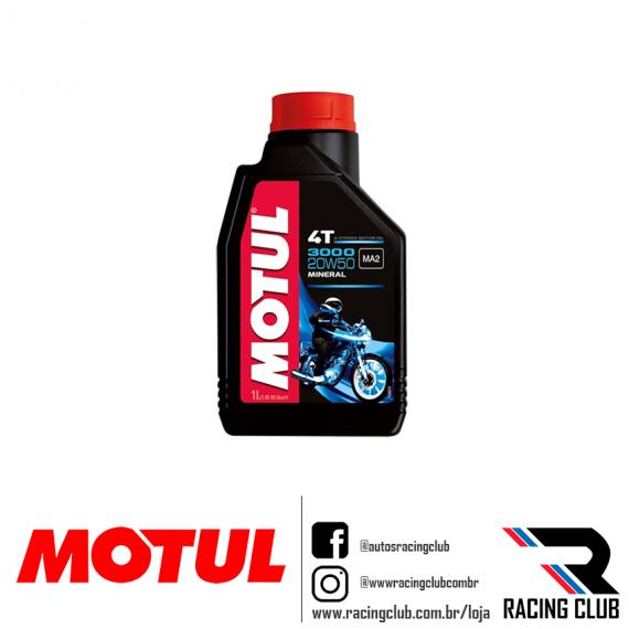RACINGCLUB MOTUL 3000 20W50 MINERAL