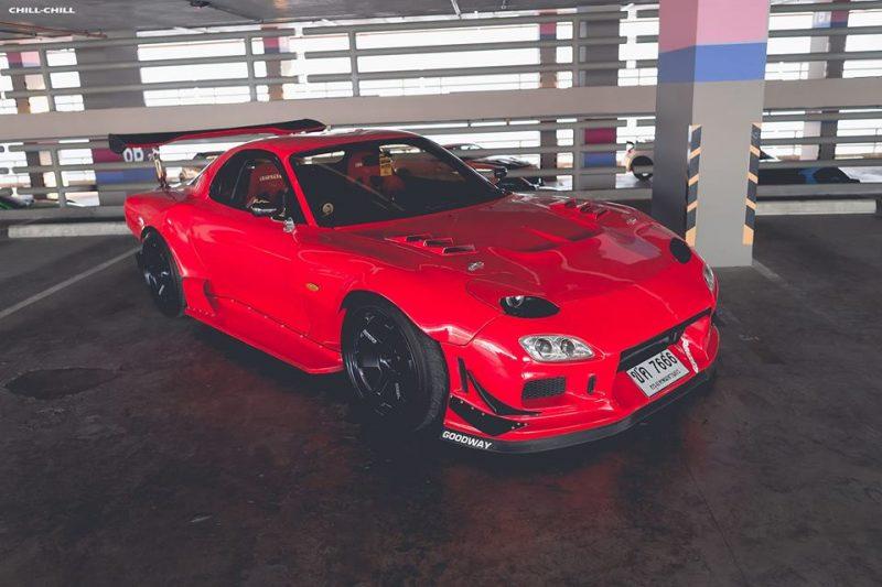 Review: Mazda RX7 Rotary no Brasil, Fuel Tech e muita potência.
